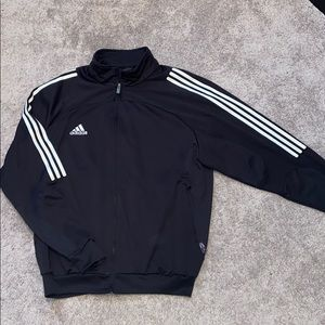 Men's Large Adidas jacket athletic black coat